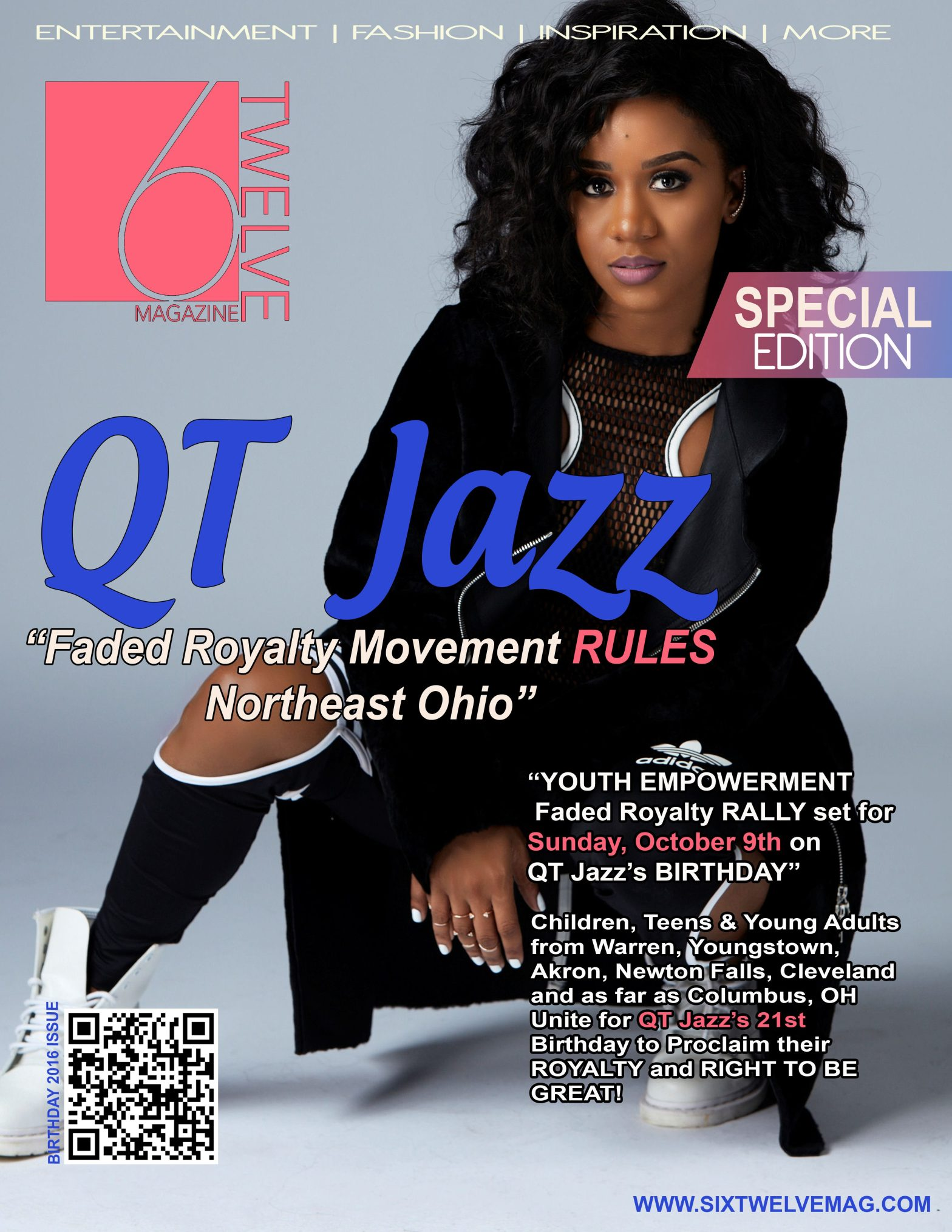 QTJAZZ Birthday/Empowerment Edition